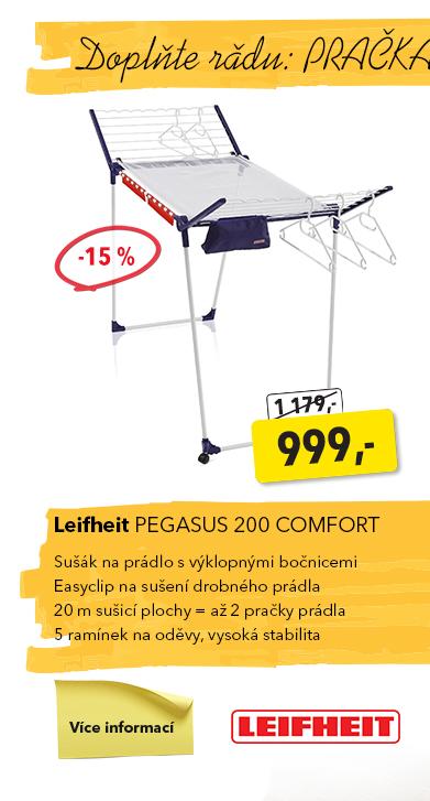 Sušák Leifheit Pegasus 200 Comfort