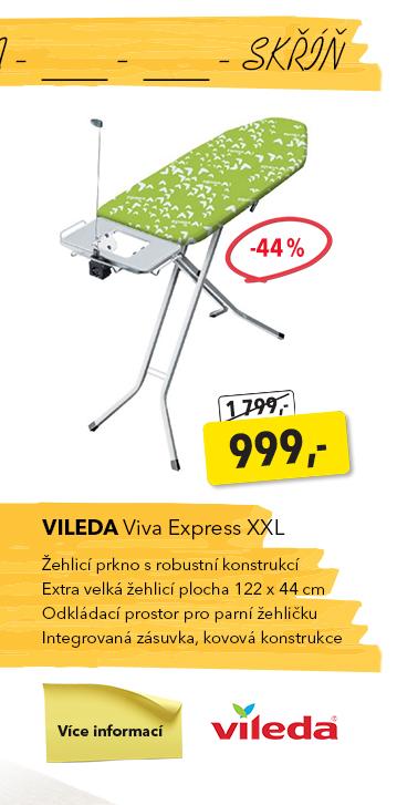 Žehlicí prkno Vileda Viva Express XXL