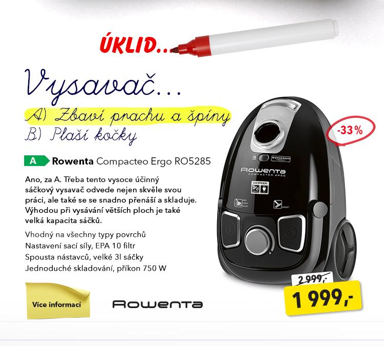 Vysavač Rowenta Compacteo Ergo RO5285