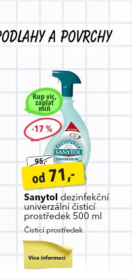 Sanytol dezinfekční čistící prostředek
