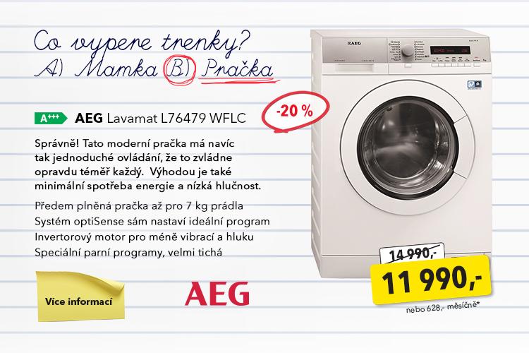 Pračka AEG Lavamat L76479 WFLC