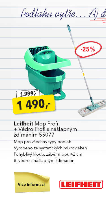 Leifheit Mop Profi sada