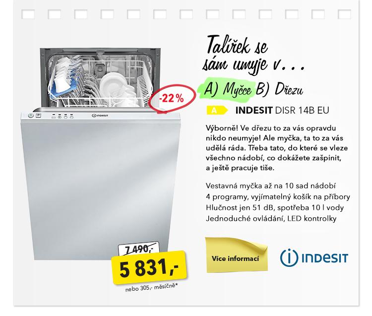 Myčka Indesit DISR 14B EU
