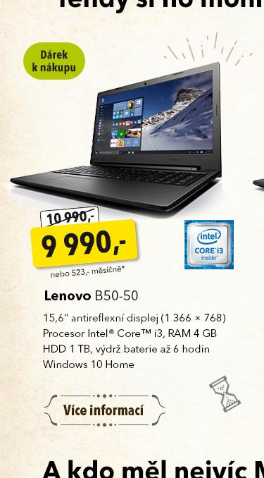 Notebook Lenovo B50-50