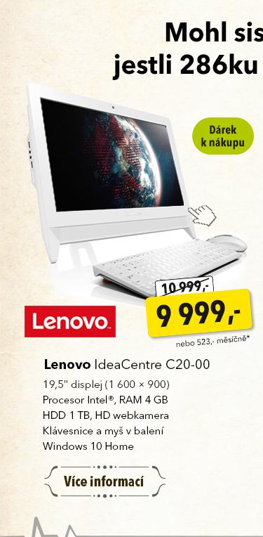 Displej Lenovo IdeaCentre C20-00