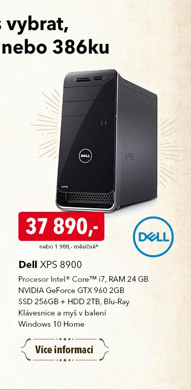 Počítač Dell XPS 8900