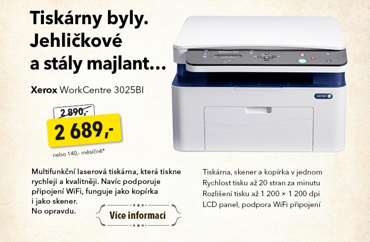 Tiskárna Xerox WorkCentre 3025BI