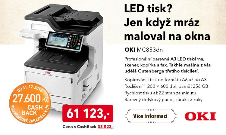 Tiskárna OKI MC853dn