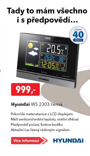 Meteostanice Hyundai WS 2303