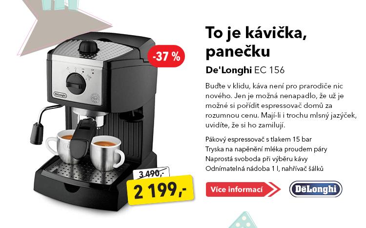 Espresso De'Longhi EC 156