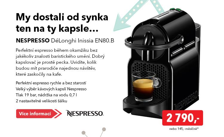 Nespresso DeLonghi Inissia EN80.B