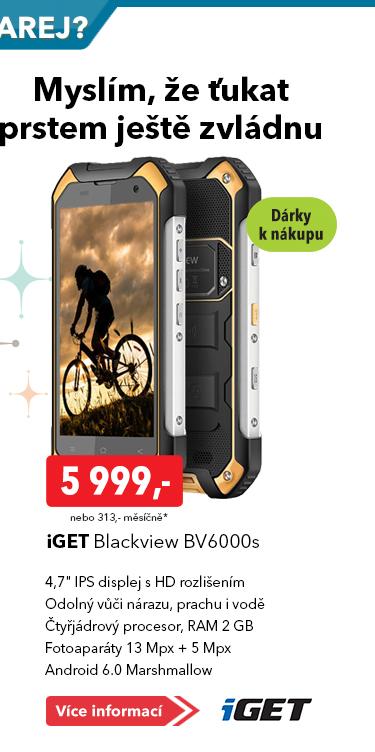 Telefon iGet Blackwiew BV6000s