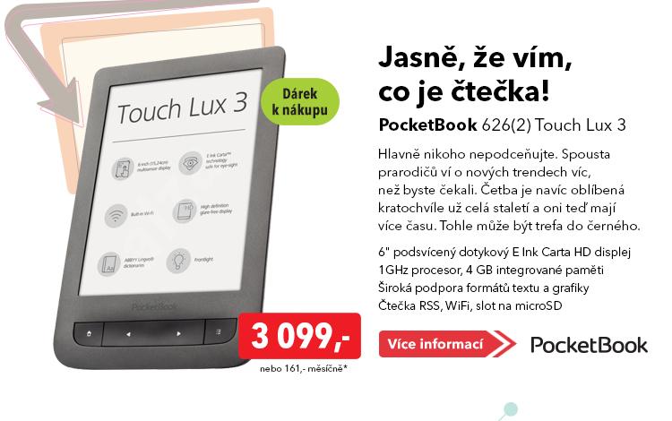 Čtečka PocketBook 626(2) Touch Lux 3