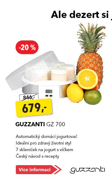 Jogurtovač Guzzanti GZ 700