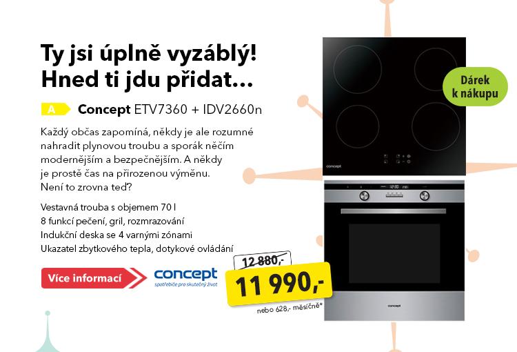 Vestavná trouba Concept ETV7360