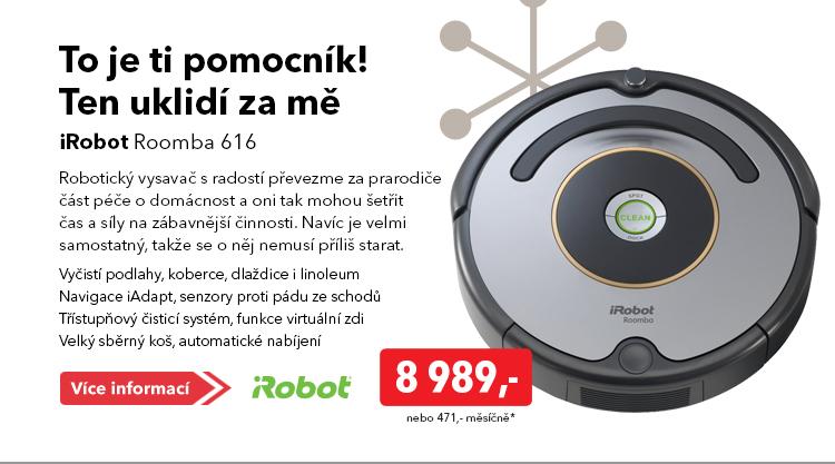 Vysavač iRobot Roomba 616
