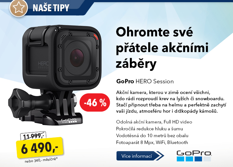 GoPro Hero Session kamera