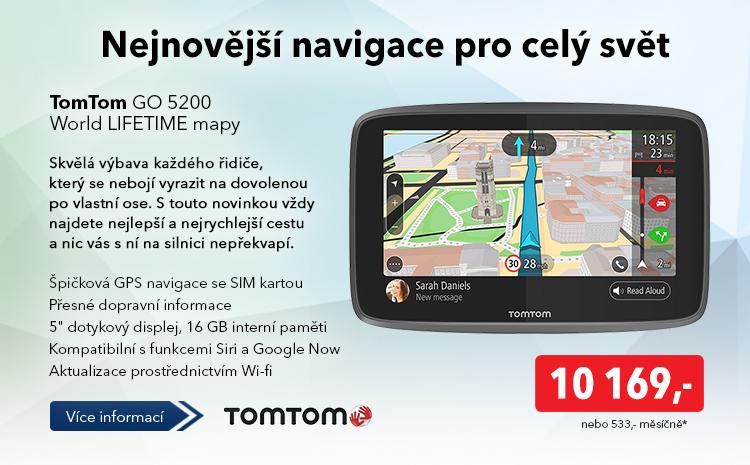 Navigace TomTom GO 5200
