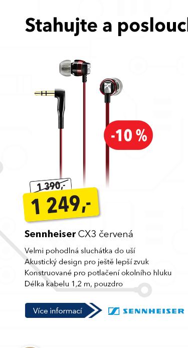 Sluchátka Sennheiser CX3