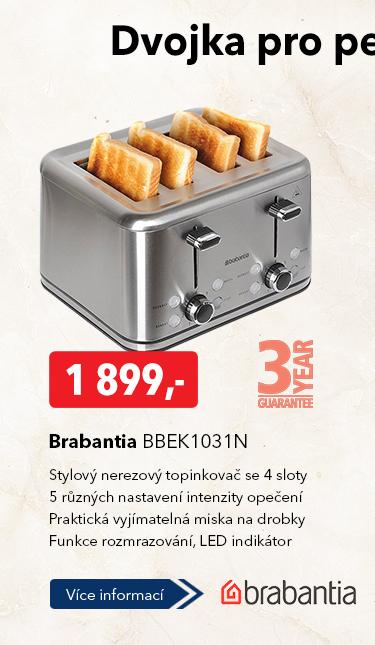 Topinkovač Brabantia BBEK1031N