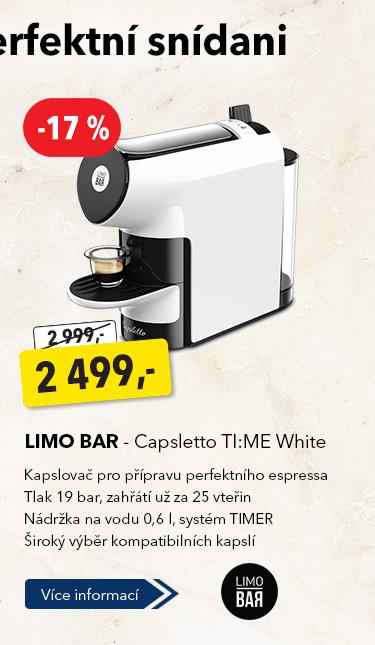 Kapslový kávovar Limo Bar Capsletto