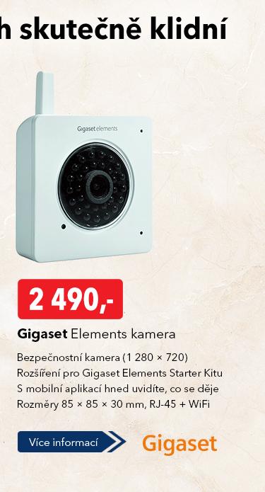 Bezpečnostní kamera Gigaset Elements