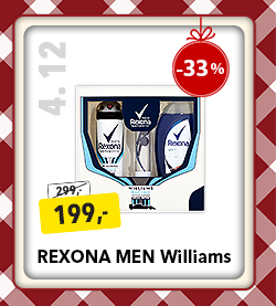 Rexona Men WIliams kosmetika