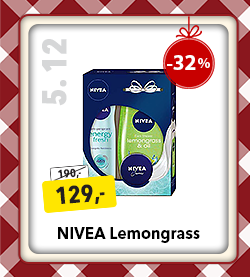 Nivea Lemongrass kosmetika