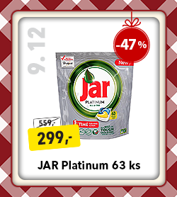 JAR Platinum tablety do myčky