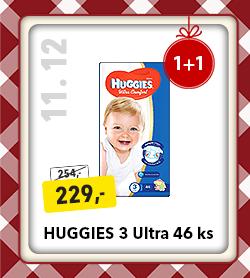 Plenky Huggies 3 Ultra