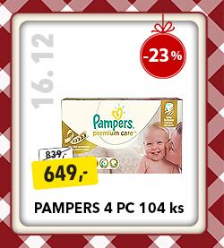 Plenky Pampers 4 PC
