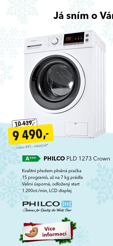 Pračka Philco PLD 1273 Crown