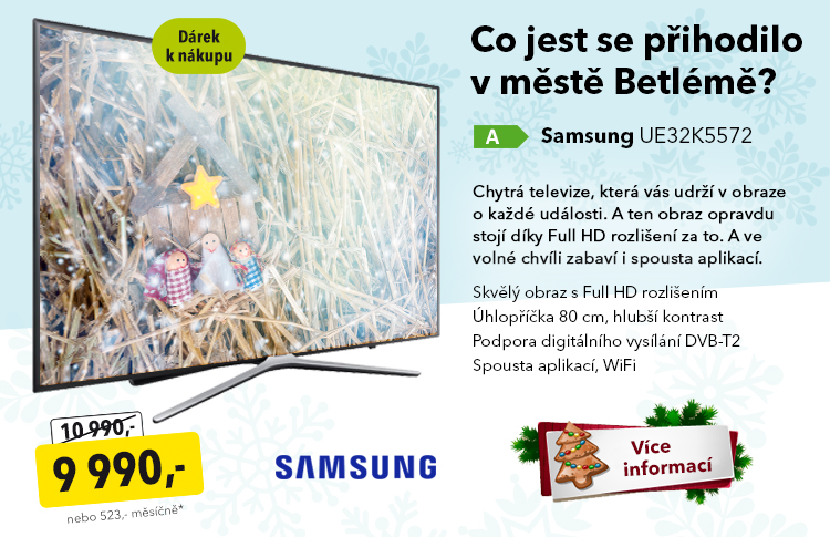 TV Samsung UE32K5572