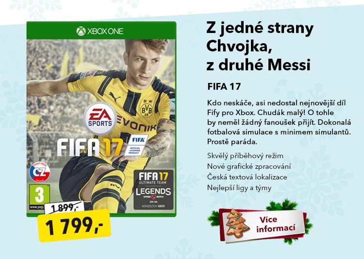 Hra FIFA 17