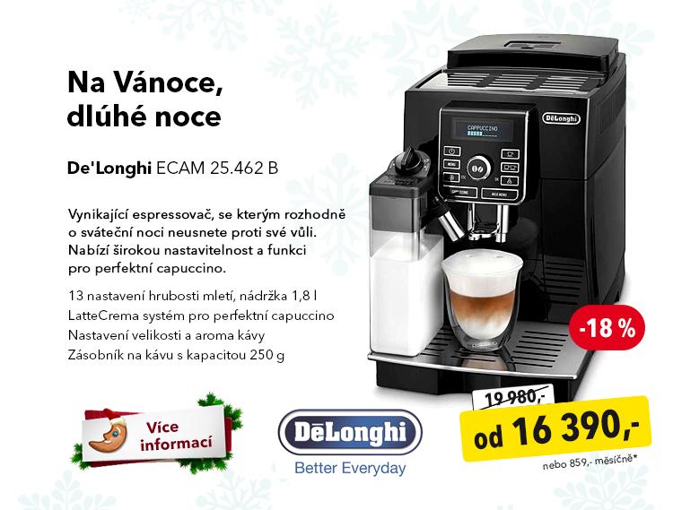 Kávovar DeLonghi ECAM 25.462 B
