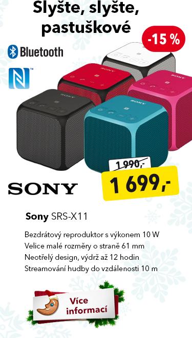 Bezdrátový reproduktor Sony SRS-X11