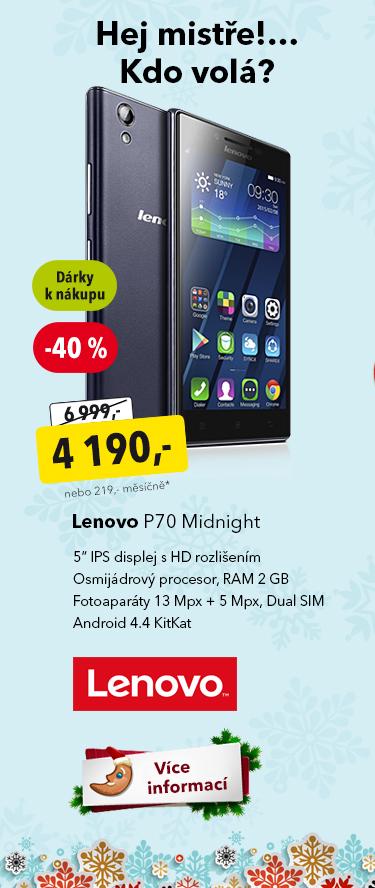 Telefon Lenovo P70 Midnight