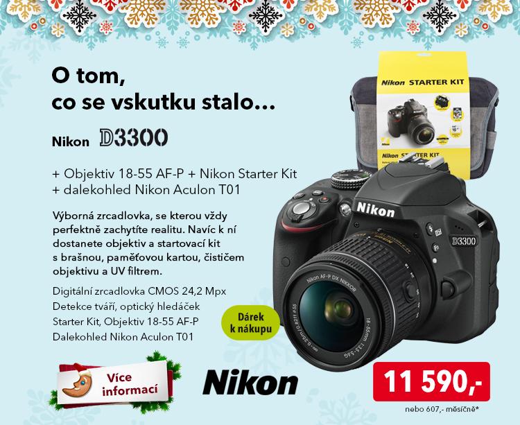 Fotoaparát Nikon D3300
