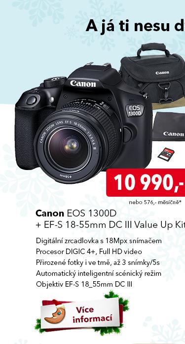Fotoaparát Canon EOS 1300D