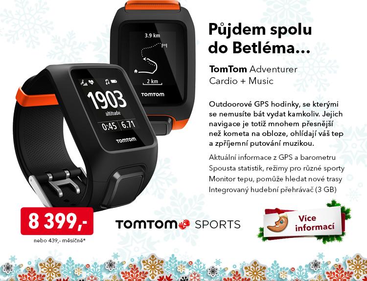 GPS hodinky TomTom Adventurer Cardio