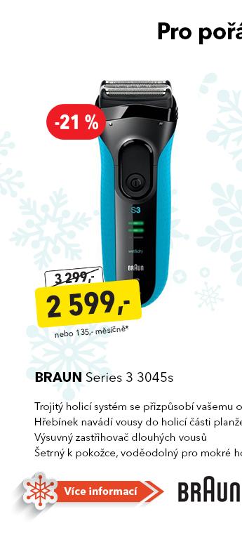 Holicí strojek Braun Series 3 3045s