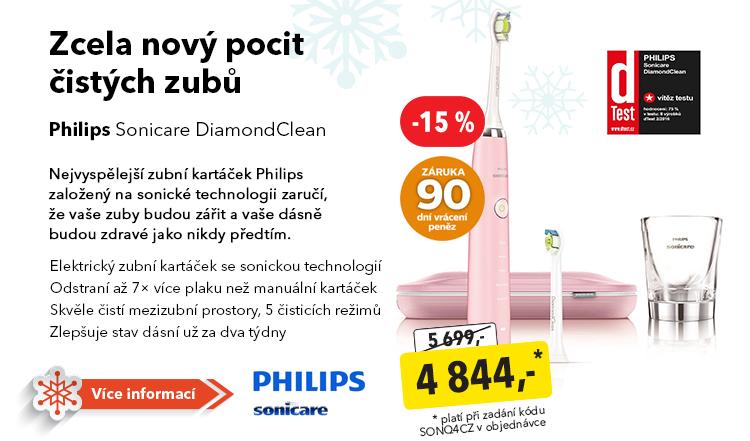 Kartáček Philips Sonicare DiamondClean