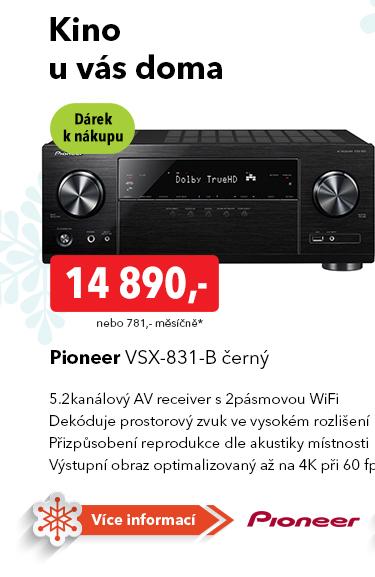AV receiver Pioneer VSX-831-B