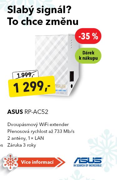 WiFi extender Asus RP-AC52
