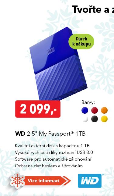 Externí disk WD 2.5 Passport 1TB