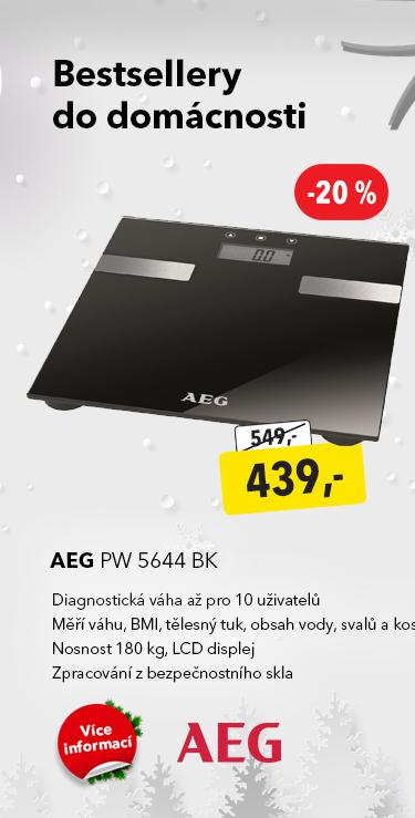 Váha AEG PW 5644 BK