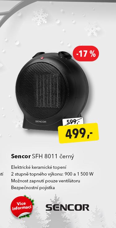 Elektrické topení Sencor SFH 8011