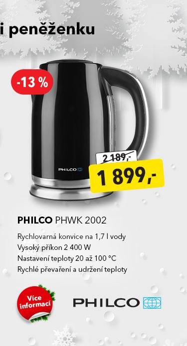 Rychlovarná konvice Philco PHWK 2002