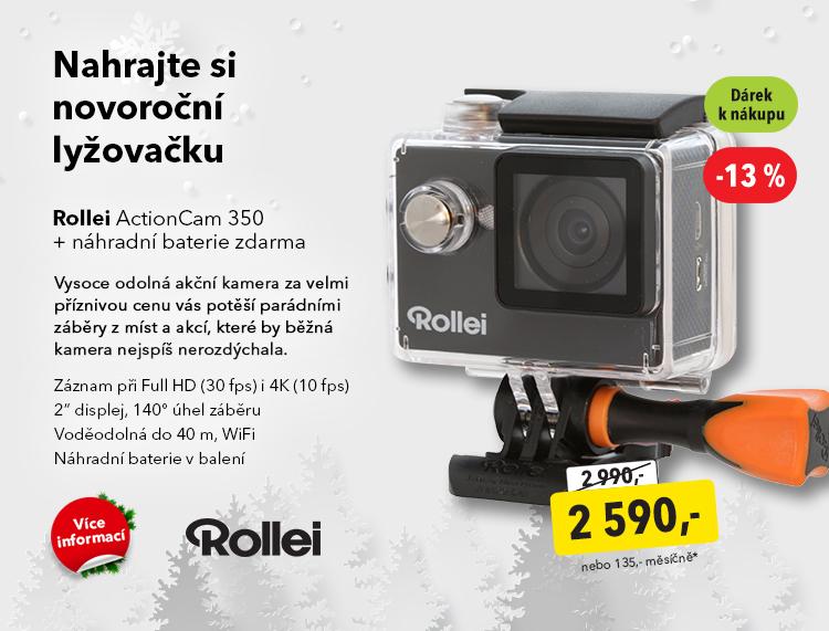 Akční kamera Rollei ActionCam 350