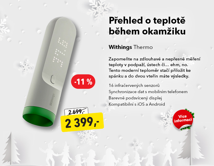 Teploměr Withings Thermo